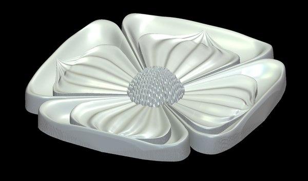 floral design 3D model
