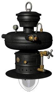 petromax 790 factory lamp 3D model