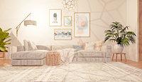 revit nordic living room 3D model
