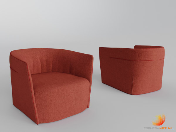 armchair - 3D