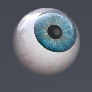 eye realistic human characters 3D