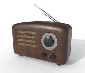 radio old pbr model