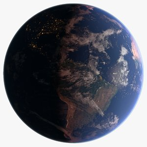 3D 43k earth space
