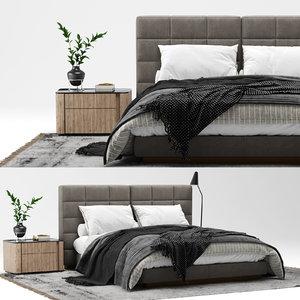lawrence bed 3D model