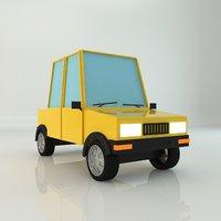 car animations 3D model