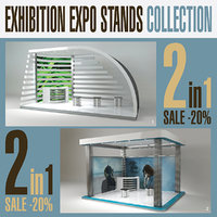 Exhibition Expo Stands Collection 2in1