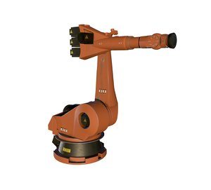 3D model industrial robot kuka