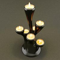 candelabra candlestick 3D model