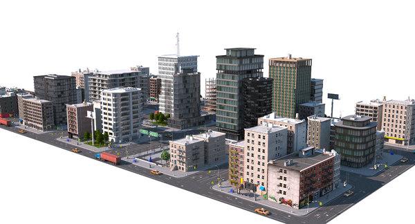 city 2 3D model