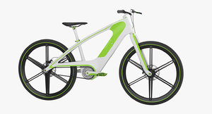 3D electric bike 5 model