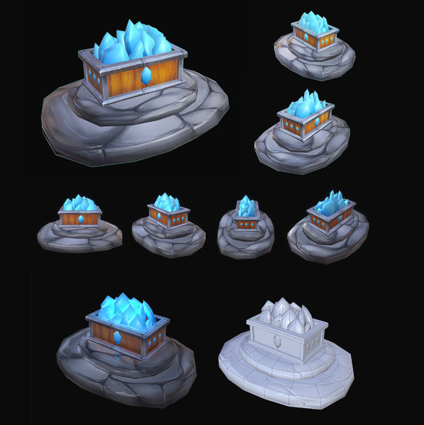 3D model mining object