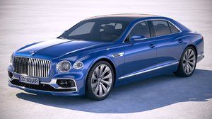 3D bentley flying spur