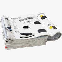 3D magazines open set 4