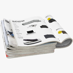 3D magazines open set 4