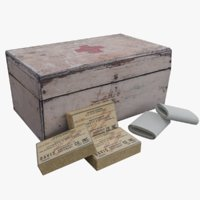 WW2 First Aid Medical Kit