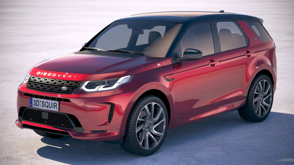 land rover discovery 3D