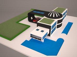 city usb business 3D