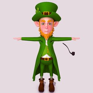 leprechaun cartoon 3D model