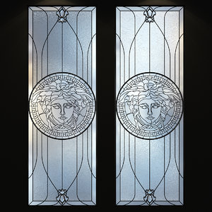 3D stained-glass glass stained