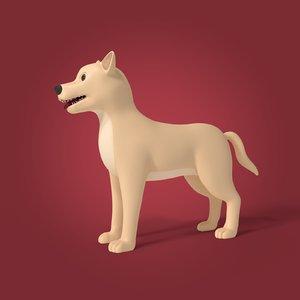 dog cartoon 3D
