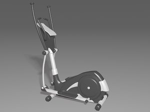 elliptical trainer 3D