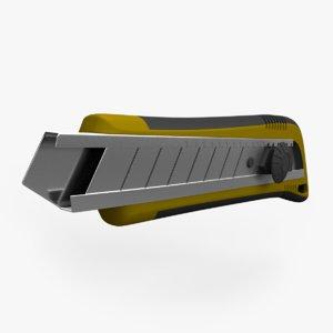 cutter knife blade model