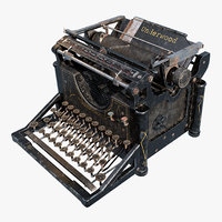 Typewriter Underwood No 5
