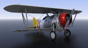 grumman aircraft airplane 3D model