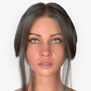 3D woman audreyana