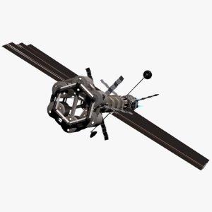 3D spacecraft mars model