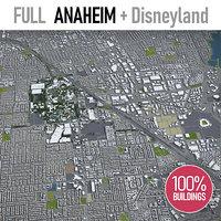 anaheim surrounding - 3D