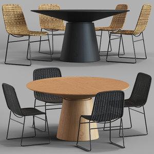 classique dining tables olivia model