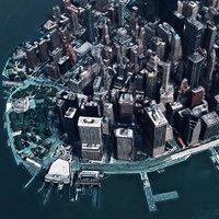 lower manhattan new york 3D model