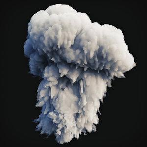 smoke explosion 1 model