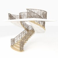 staircase railing model