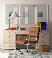 Office Furniture Set 01