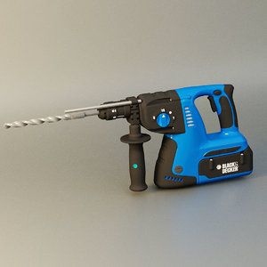 drill electric 3D