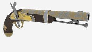 gun pirate model