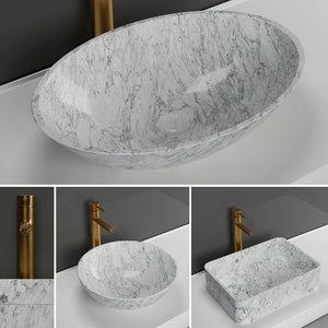 3D basins