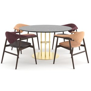 3D chairs tables masculo ts