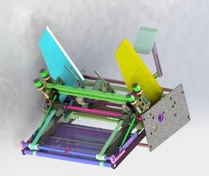 paper machine model