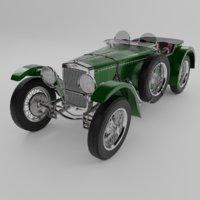 vehicle frazer nash tt model