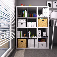 bookcase architectural ikea 3D model