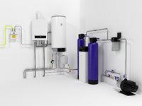 Boiler Buderus U072-35 + Drazice OKC160 waterheater