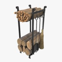 3D set woodpile