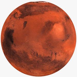 planet mars 3D