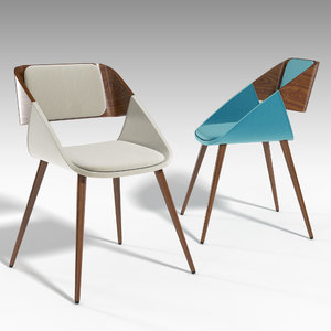 mirabell accent chair santorini 3D model