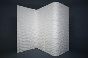pattern wall 3D