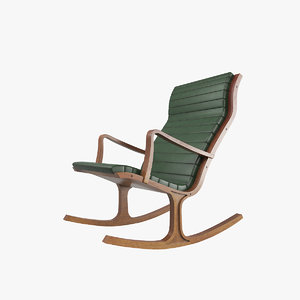 rocking chair v1 3D model