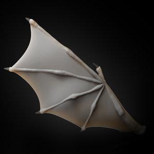 wing creature 2019 3D model